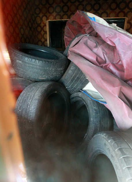 Thieves are stealing large piles of old tires, selling the few reusable tires and dumping the rest illegally, according to police and a state environmental officer.  The issue came up during a recent meeting of the St. Clair County Environment Committee, which is led by County Board members.  Read more here: http://www.bnd.com/2014/04/16/3164753/illegal-dumping-on-the-rise-in.html?sp=/99/166/#storylink=cpy