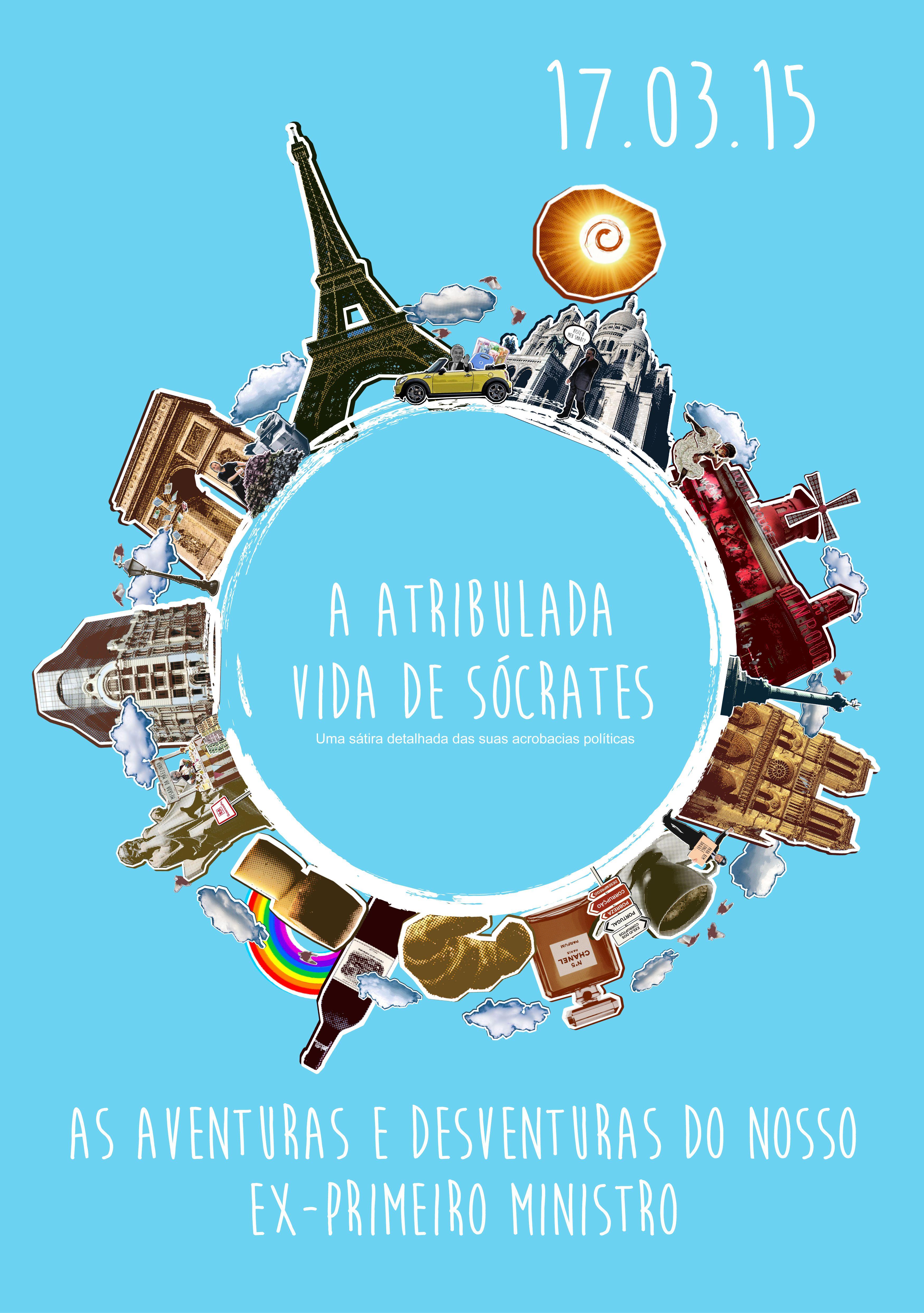 Cartaz Promocional - A agitada vida de Sócrates  https://www.youtube.com/watch?v=BGy_fmq8LXg