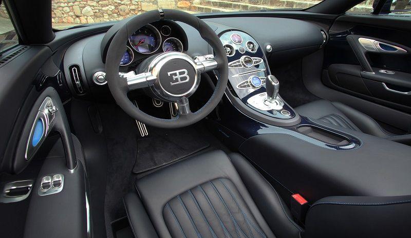 Bugatti Veyron Interior Of The Beast Bugatti Veyron Interior