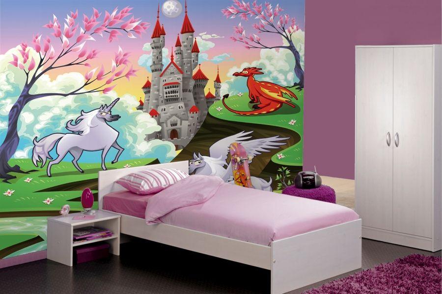 Fairytale Unicorn Wallpaper Wall Mural Muralswallpaper Co