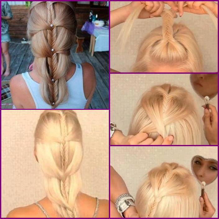 How To Make Your Beautiful Hair Style Step By Step Diy Tutorial Instructions How To How To Make Step By Step Pict Hair Styles Beautiful Hair Diy Hairstyles