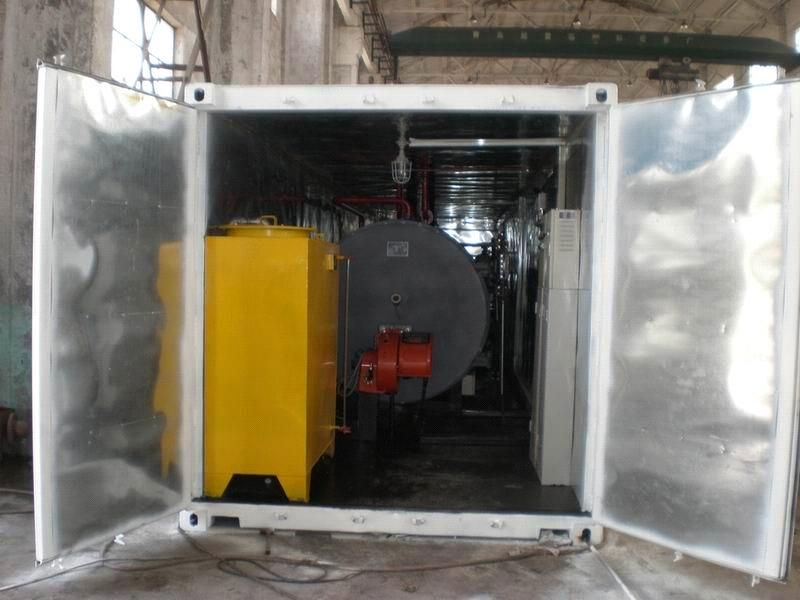 Transportable Container - Oil Boiler (WNS0.5`3-1.25Y(Q)) - China ...