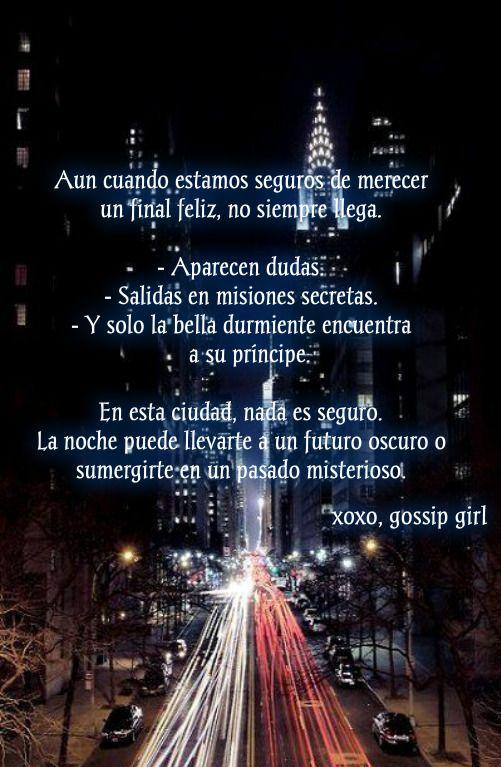 Gossip Girl Frases Cuidad De New York Temporada 3 Cpitulo 12 Gossip Girl Pics Xoxo