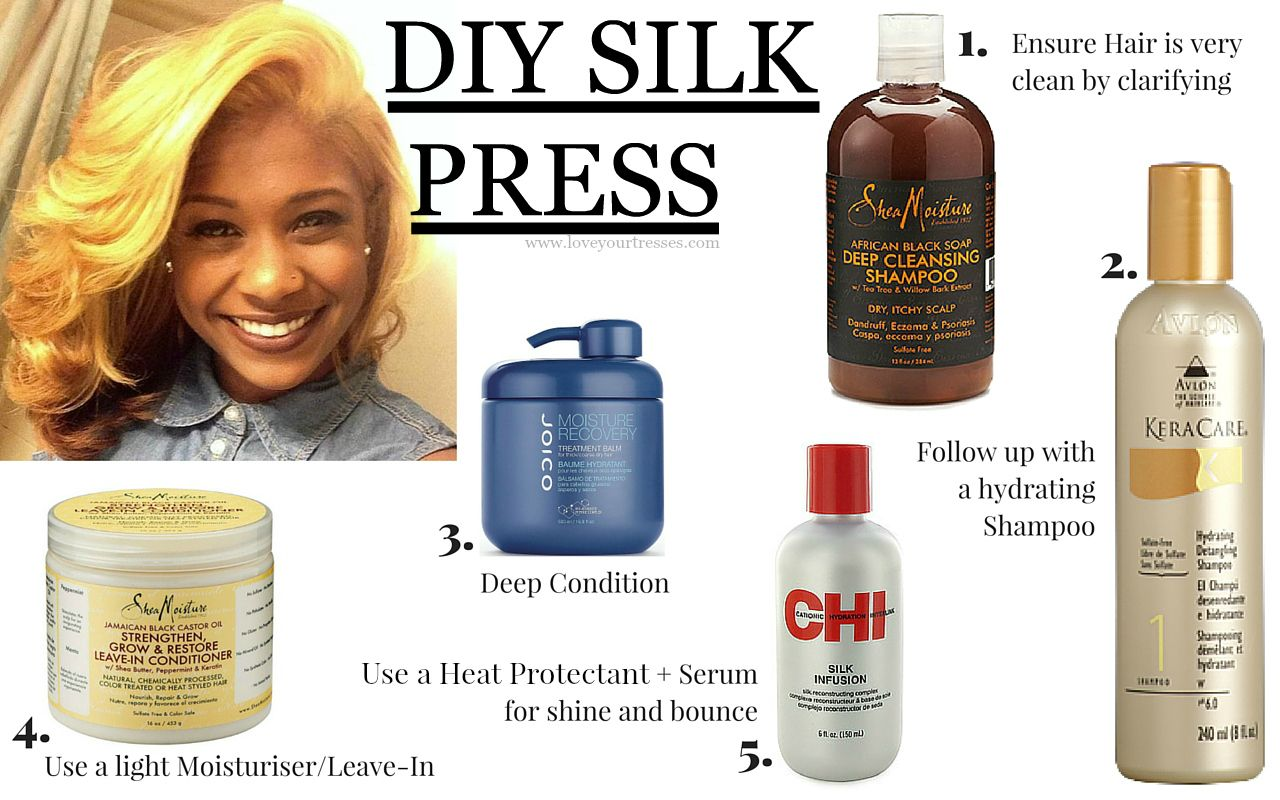P Style Font Size 22px From Natural To Bone Straight How To Achieve The Perfect Diy Silk Pressed Natural Hair Silk Press Natural Hair Natural Hair Styles