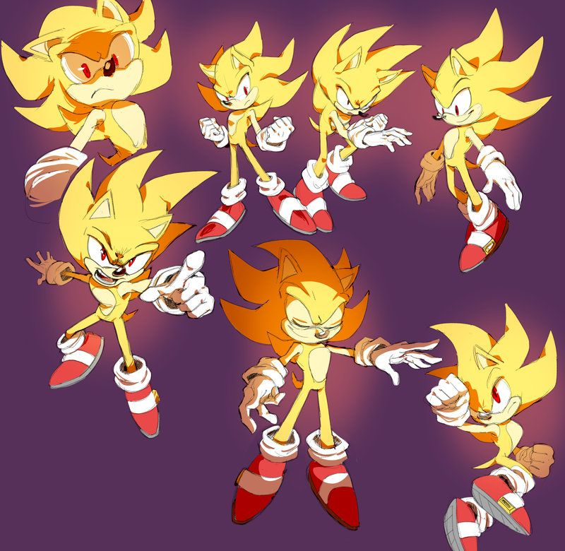 Super Sonic Studies By Shira Hedgie On Deviantart Dibujos Arte Erizo Sonic Dibujos