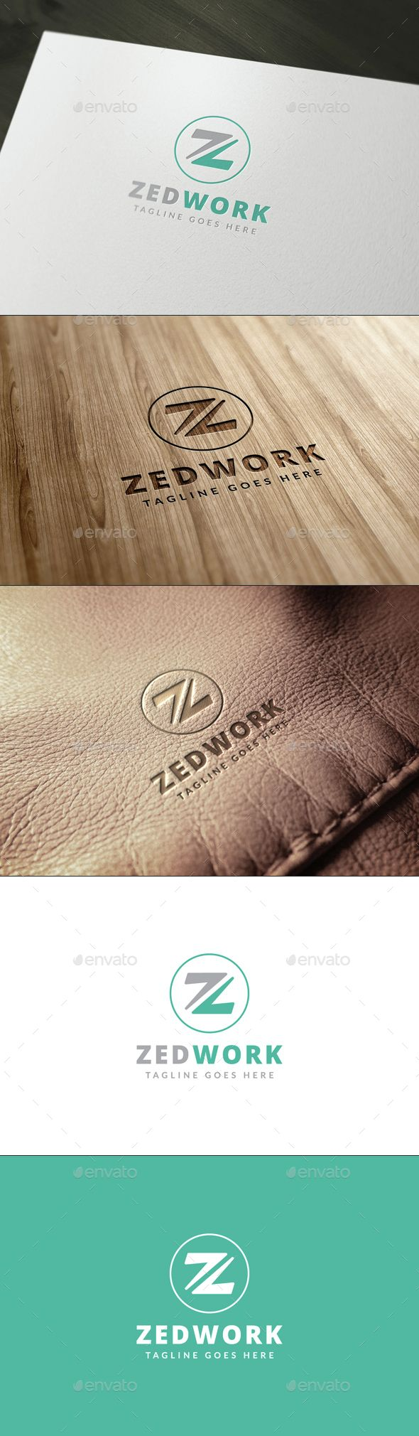 Z Letter Logo Template u2014 Photoshop PSD