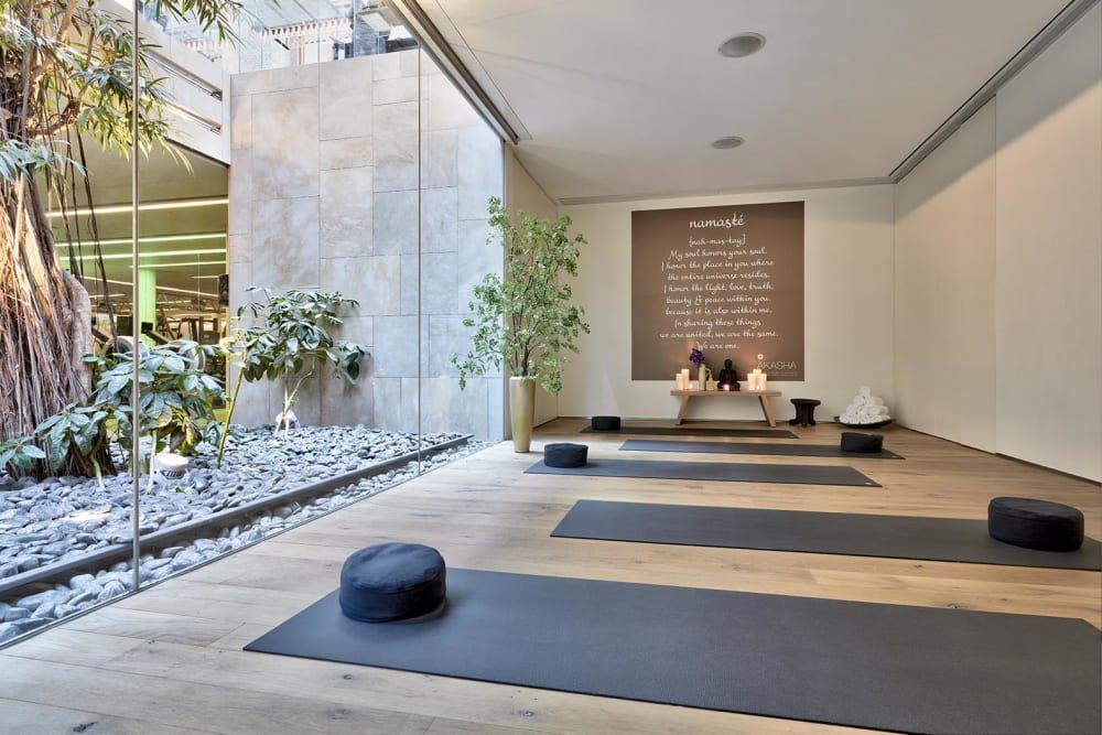 Biophilic Sustainable Interior Design How To Design A Biophilic Meditation Room Dfordesign In 2020 Yoga Room Design Meditation Rooms Gym Room At Home