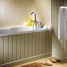 easipanel   tongue and groove panelling, bath panel, white