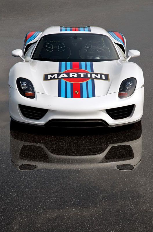 Porsche 918 Spyder MartiniR