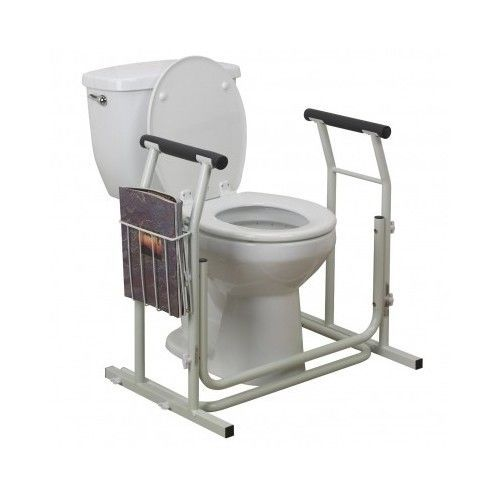 Toilet Safety Rail Bathroom Support Medical Handicap Handle Bar Commode Stand Drivemedical Disable Home Bathroom Seat Bathroom Safety Handicap Toilet
