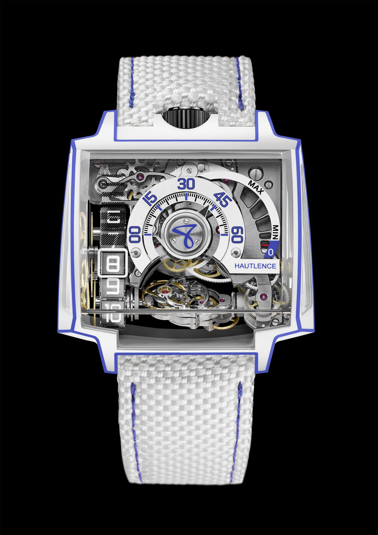 8481b8eccb Hautlence présente la Vortex Gamma Tron | Montre Divers | Montre et ...