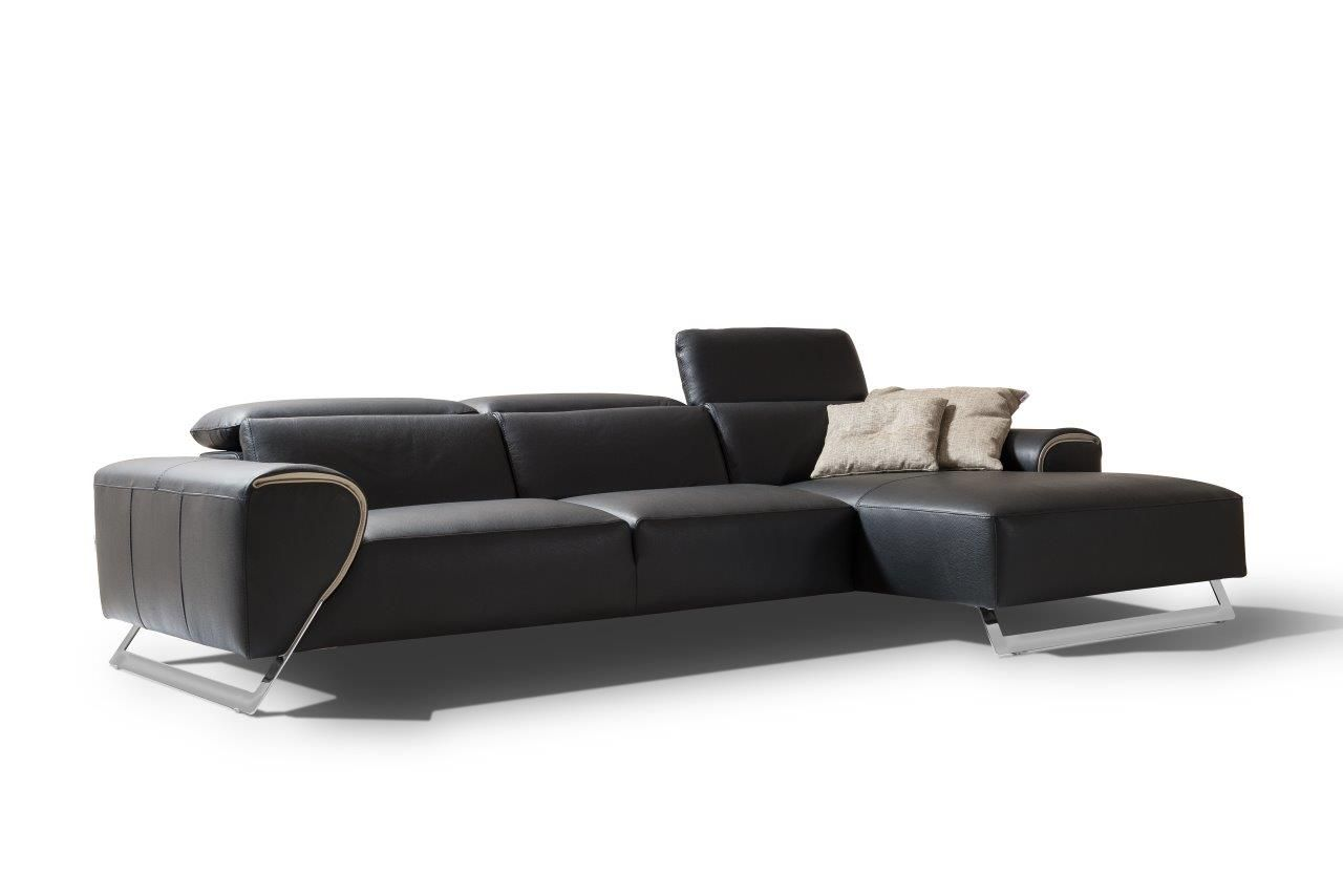 The Tribeca Is A High End Italian Leather Sofa Its Elegant Legs