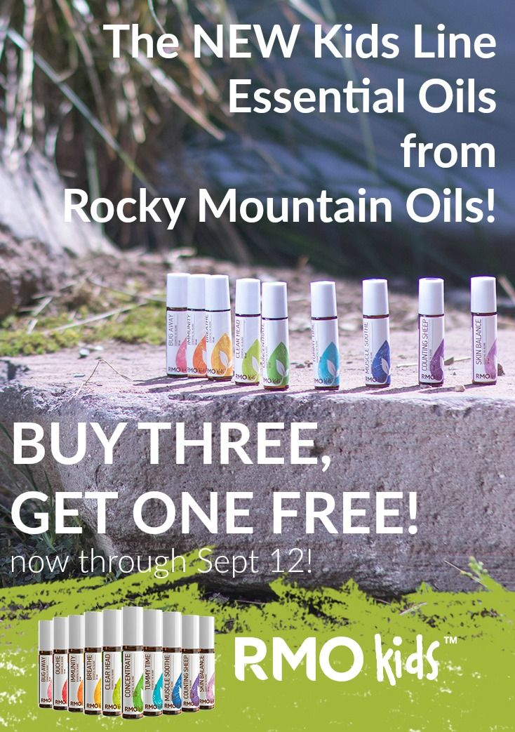 Rocky Mountain Oils NEW Kids Line Essential Oil Blends are amazing for helping…