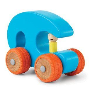 Manhattan Toy Ready Set Go, Blue/Red by Manhattan Toy. $14.99. From the Manufacturer                Vroom. This rockin' blue and bright red classic wooden car will shift playtime into high gear with its sleek contemporary lines and vibrant color combinations. Rubber outer wheels give traction, speed and a smooth ride to these classy creations.                                    Product Description                Vroom! Classic wood cars shift into high gear with sleek c...