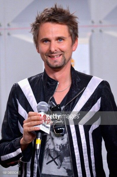 Vocalist Matthew Bellamy of Muse attends the iHeartRadio Music Festival at the MGM Grand Garden Arena on September 20, 2013 in Las Vegas, Nevada.