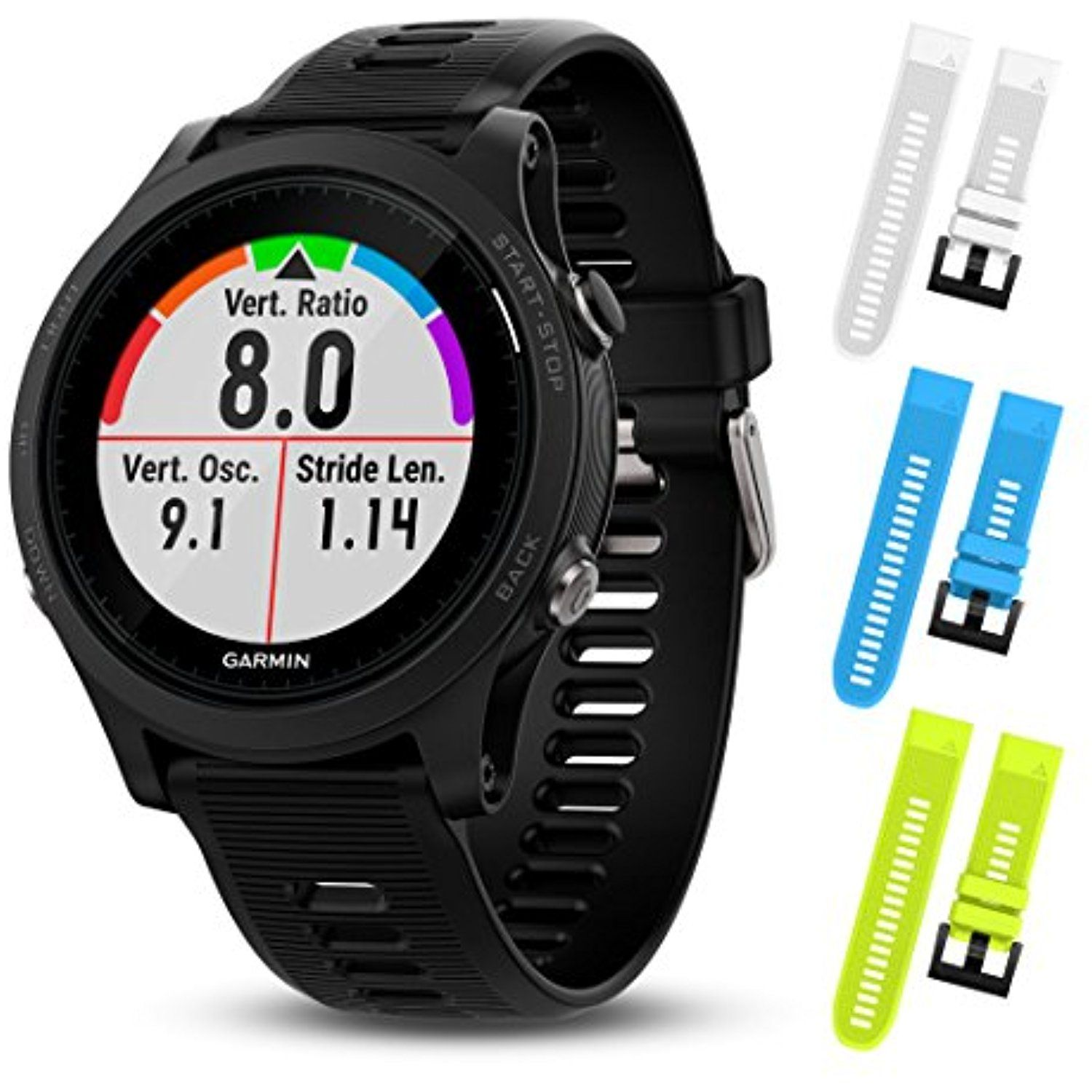 Garmin Forerunner 935 010 01746 00 And Three Additional Wearable4U Quick Release Silicone Watch Bands Bundle To View Further For This Item