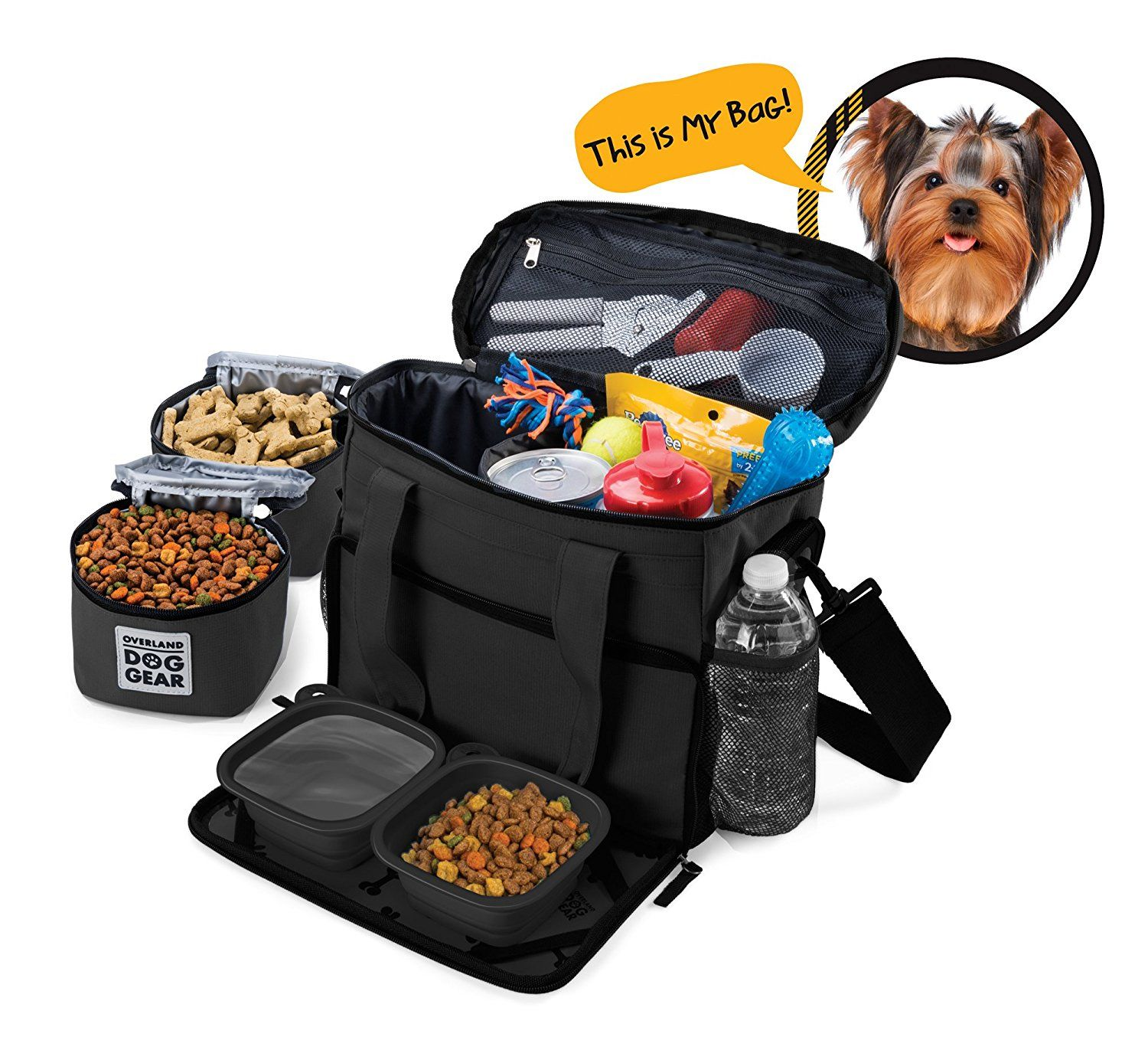 Pet Supplies Dog Travel Bag Week Away Tote For Small Dogs