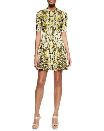 Lurex Chameleon Fit-&-Flare Dress by M Missoni at Neiman Marcus.