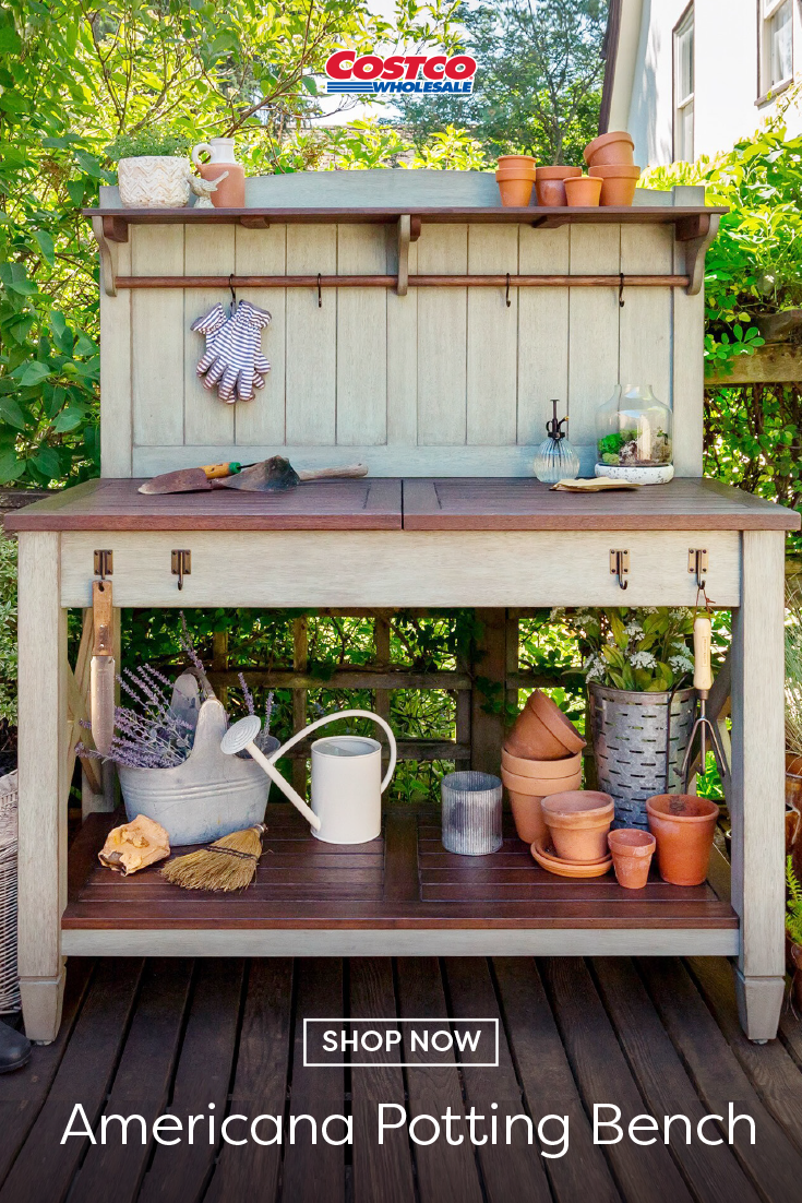 Potting Bench In 2020 Potting Bench Bench Arbor Decor