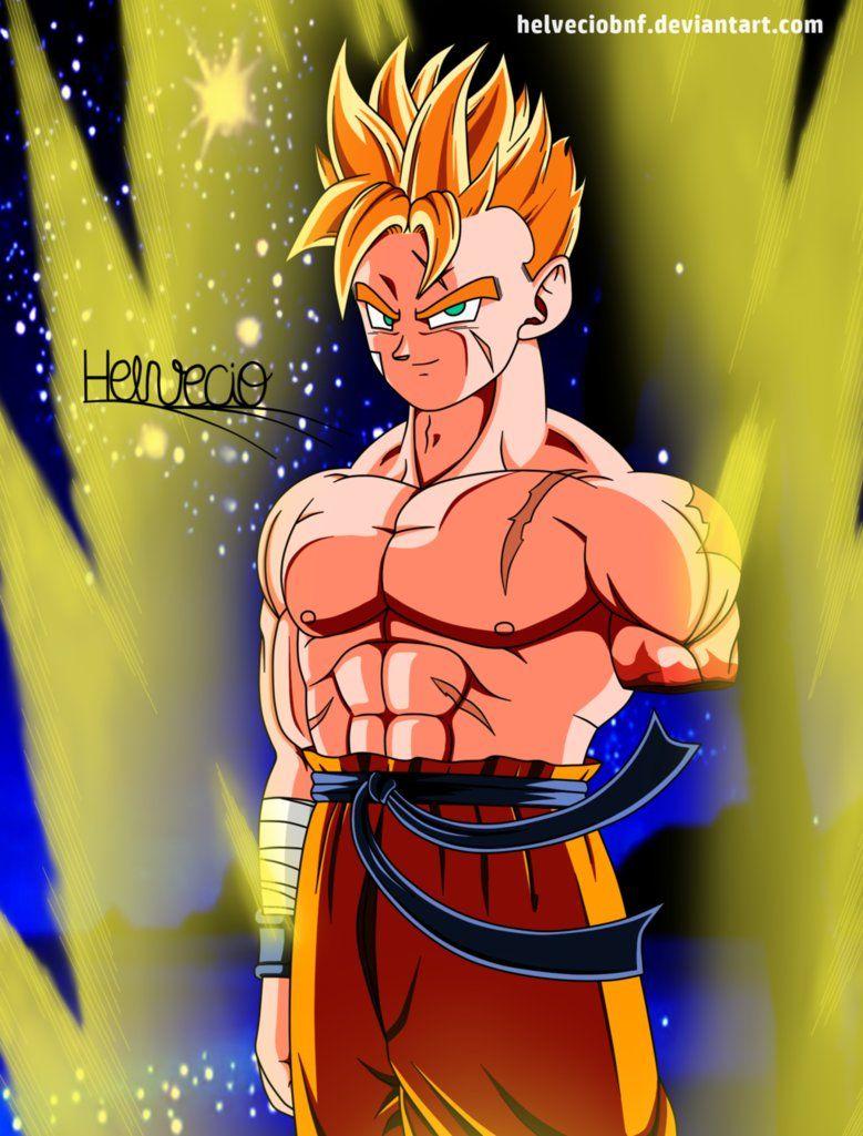 Mirai Gohan By Helveciobnf Dragon Ball Super Manga Dragon Ball Art Dragon Ball Super Goku