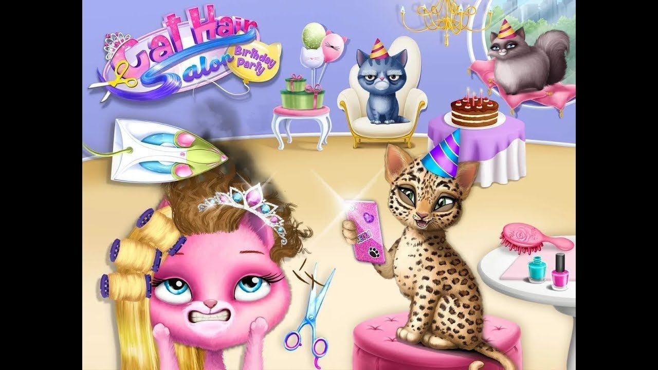 Fun Animals Care & Pet Makeover Cat Hair Salon Birthday