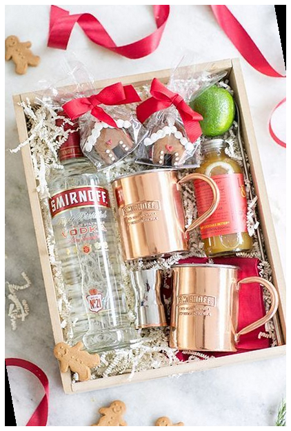 Gingerbread Moscow Mule 17+ | christmas gift baske