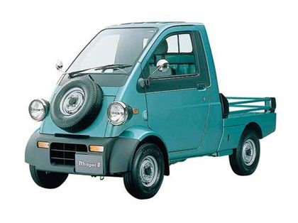 Daihatsu Midget Ii 1996 Motokolyaska Pikap Avtomobili