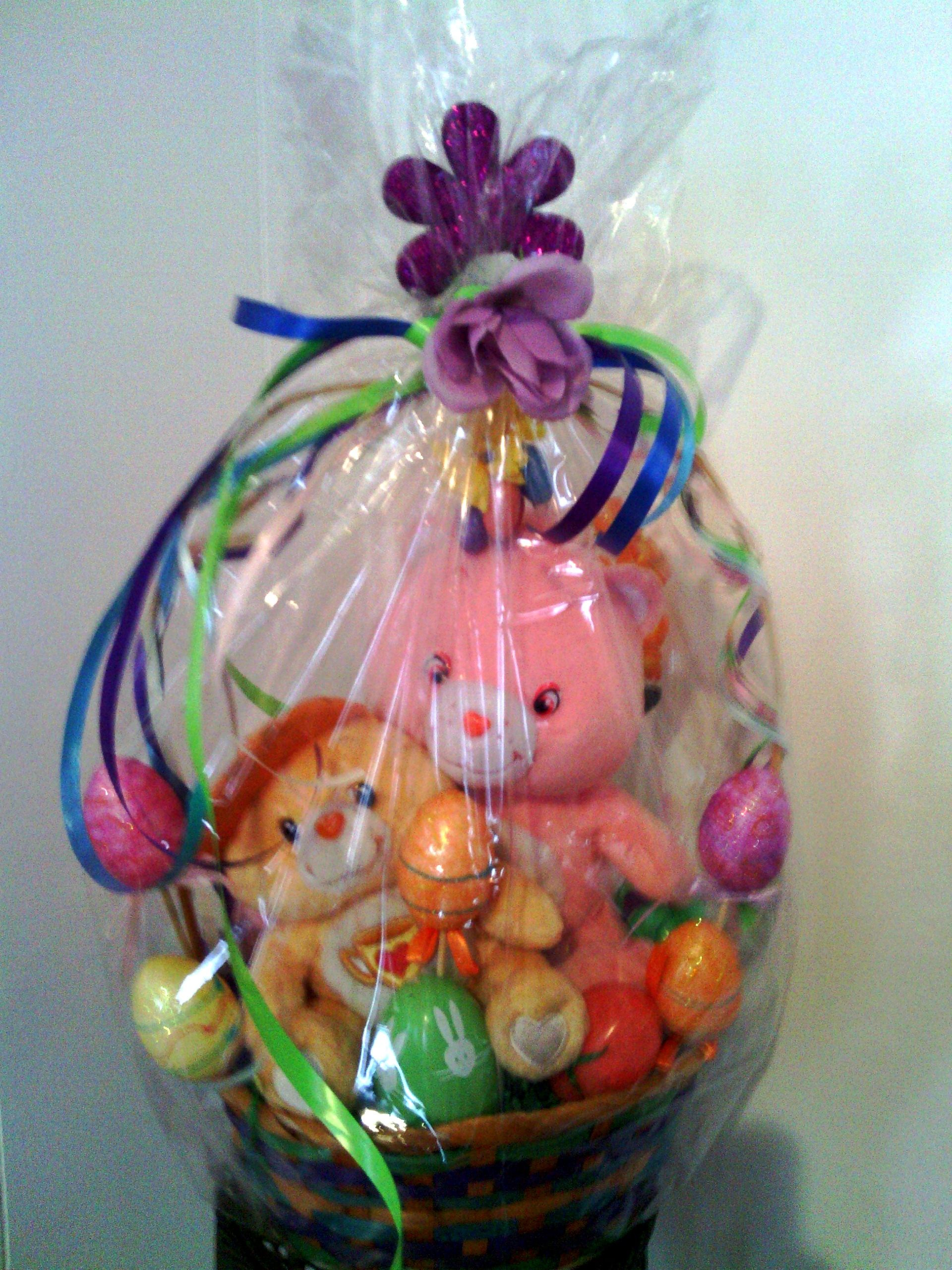 Care bears easter basket easter creations pinterest care bears care bears easter basket easter basketsgift negle Images