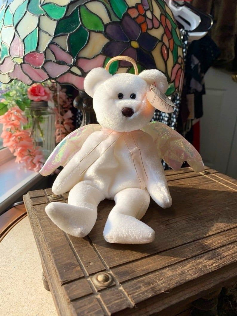PE Pellets Ty Beanie Babies New Year bear Mint w// Tag