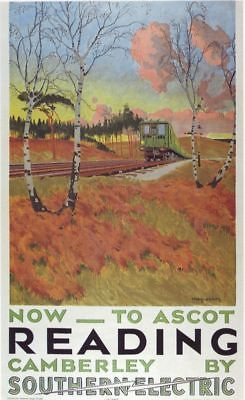 British Railways The Matlocks Poster A3 reprint