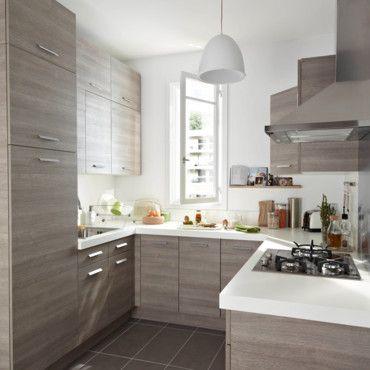 Cocina gris claro cocinas pinterest cocina gris for Cocinas claras modernas