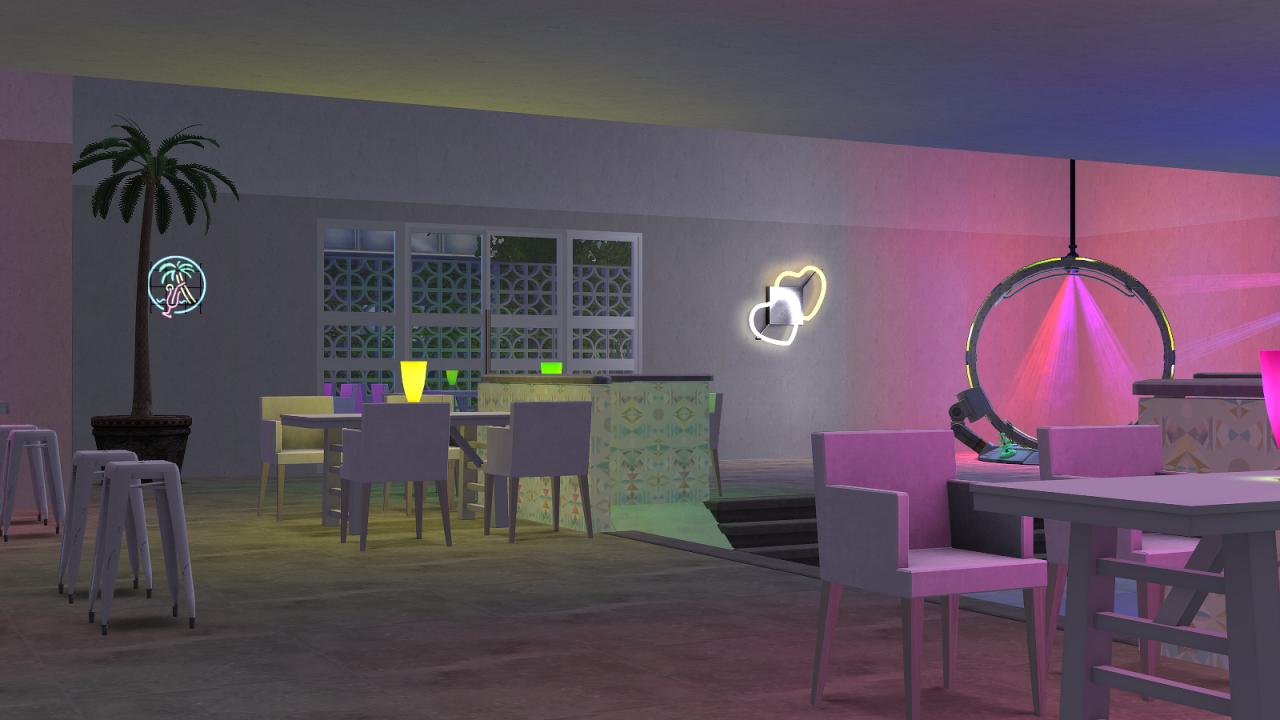 JodelieJodelie's Sims Stuff - The Hub.Taste the neon rainbow. Download (TS2): ...