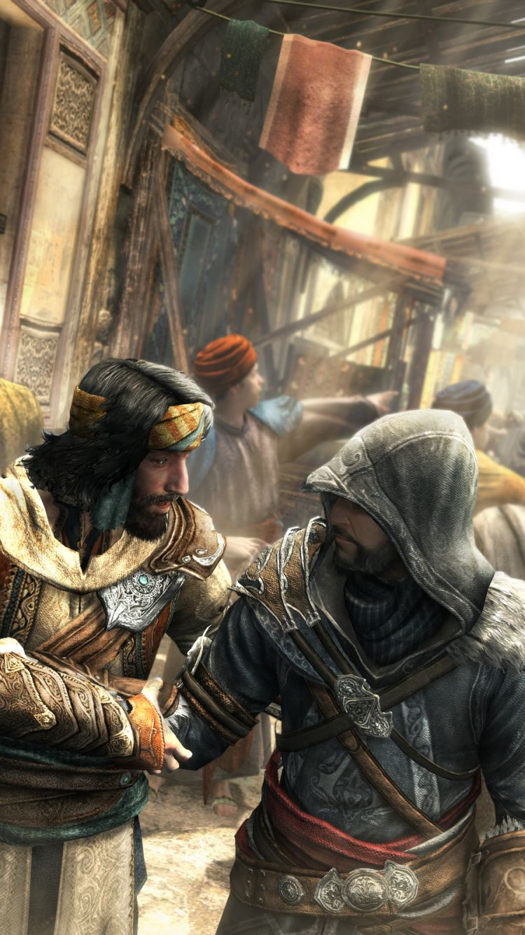 Assassin S Creed Revelation Featured A Much Older Ezio Auditore
