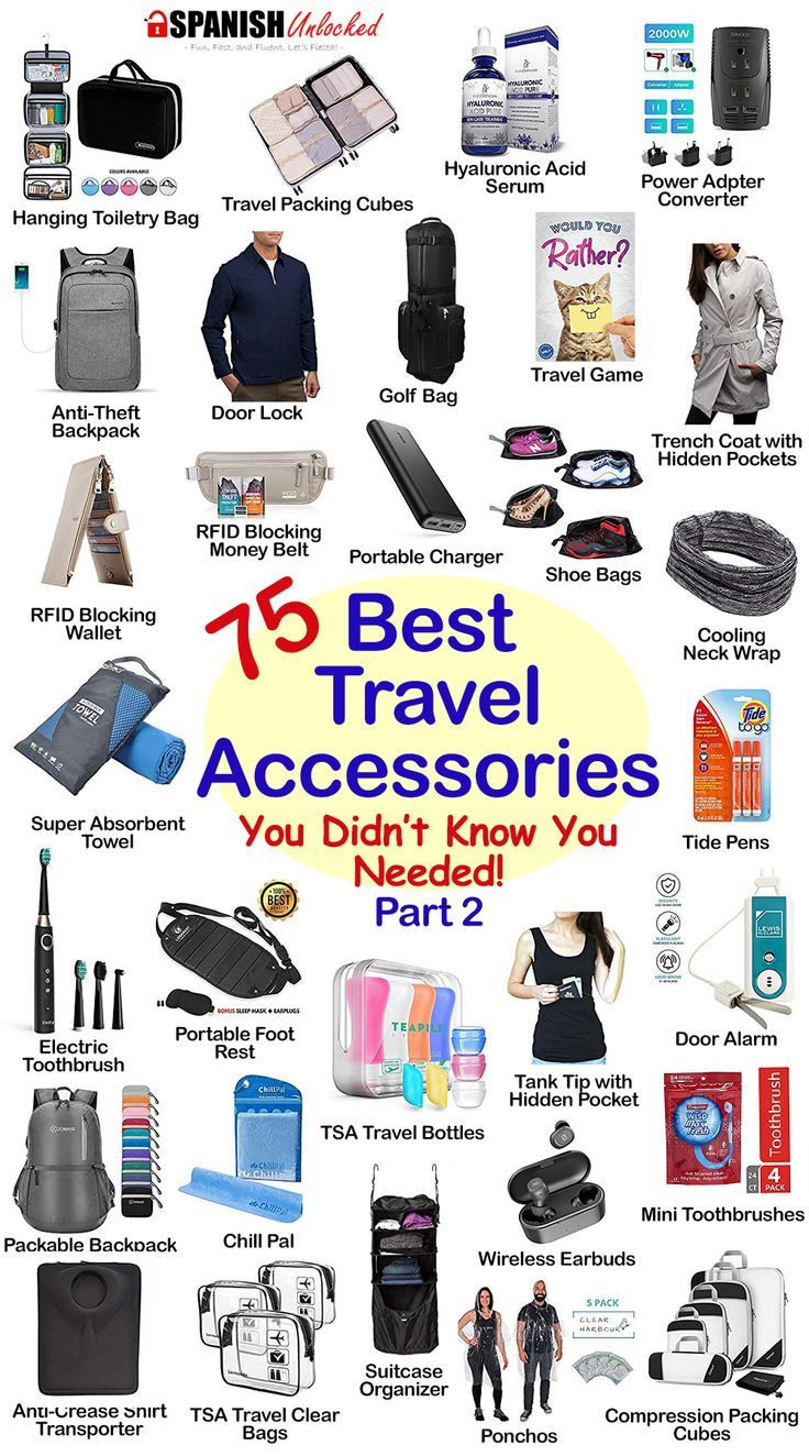 75 Best Travel Essentials - Gift ideas for travel lovers