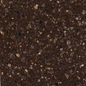 Amazing Allen + Roth W X L Toffee Solid Surface Countertop Sample