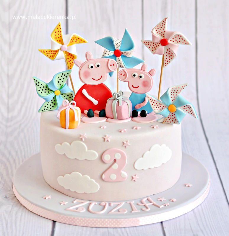 Peppa Pig Cake Pig Birthday Cakes Peppa Pig Cake Peppa Pig Birthday Cake