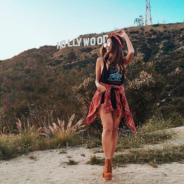 H O L L Y W O O D California Pictures Hollywood Hollywood Sign