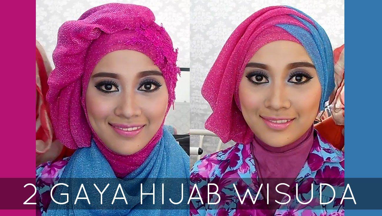 Tutorial Hijab Wisuda 2 Hijabstyle Dengan Hijab Savanna Mecca
