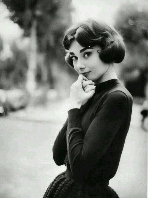 1950s Audrey Hepburn Hair