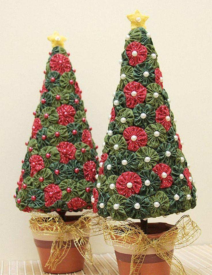 resultado de imagen de patchwork navidad tutoriales - Arbol De Navidad De Tela
