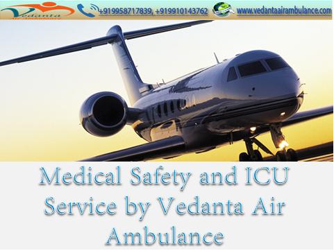 Medical Evacuation transport conveniences by Vedanta Air