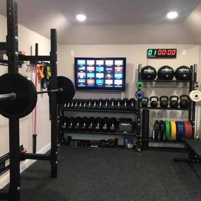 Rogue Equipped Garage Gyms - Photo Gallery | Rogue Fitness -  Rogue Equipped Garage Gyms – Photo Gal...