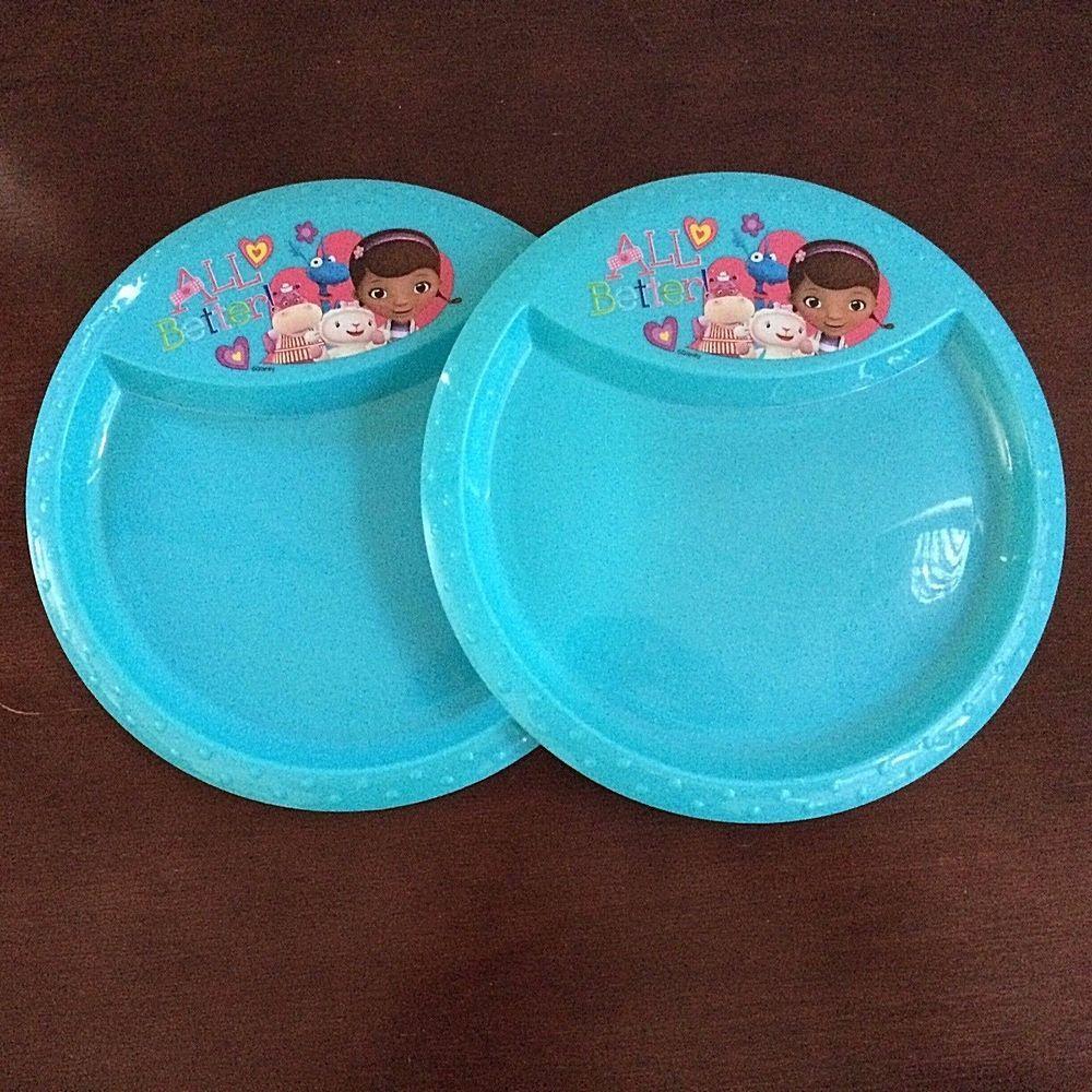 Doc Mcstuffins Plastic Disney Dinner Plates Set Of 2 All Better & Doc Mcstuffins Plastic Disney Dinner Plates Set Of 2 All Better ...