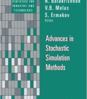 Advances In Stochastic Simulation Methods Pdf