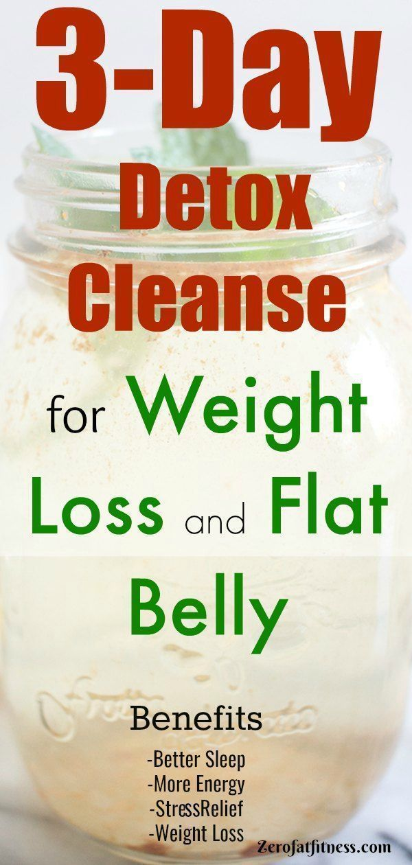 3-Day Detox Cleanse for Weight Loss and Flat Belly at Home images