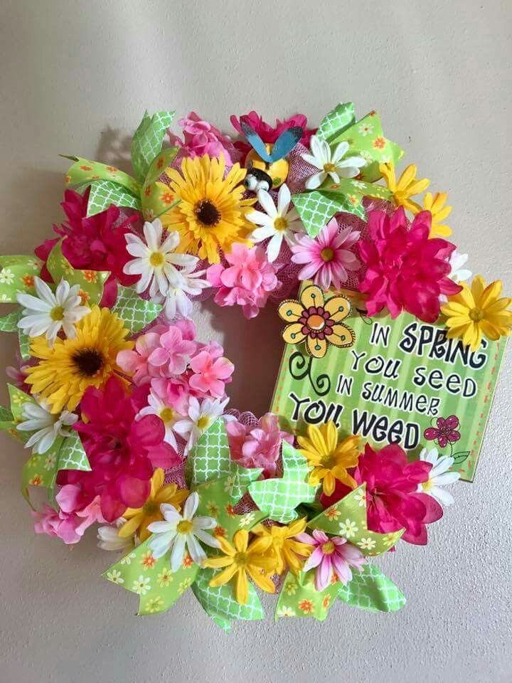 Pin by gail on wreaths floral wreath wreaths floral