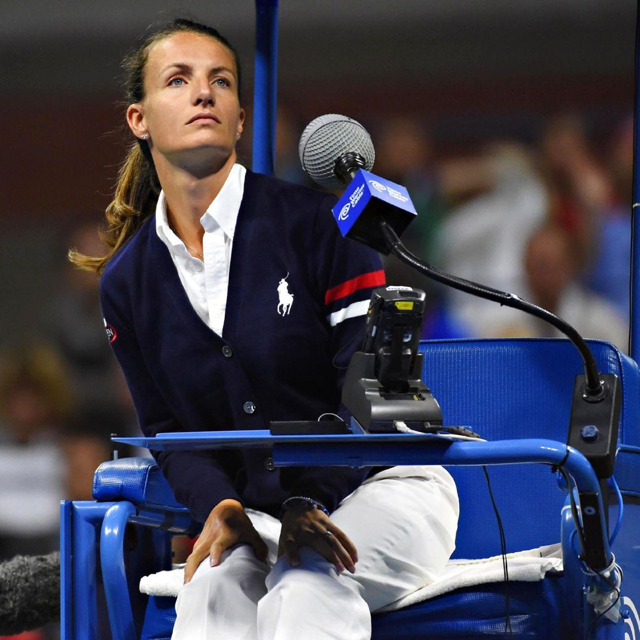 Open Men S Final Has First Female Chair Umpire Women In History Men Us Open Final