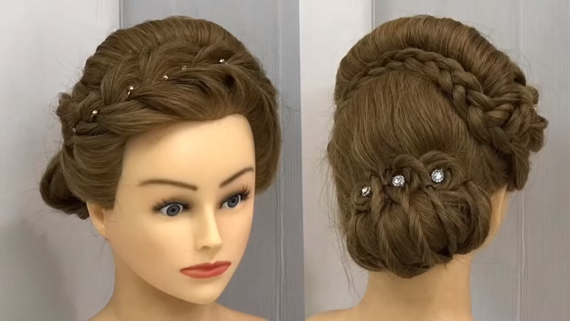 Most Beautiful Hairstyle For Wedding Or Party Easy Hairstyles Side Bun With Trick Hairstyletutorials Front Hair Styles Side Bun Hairstyles Easy Hairstyles
