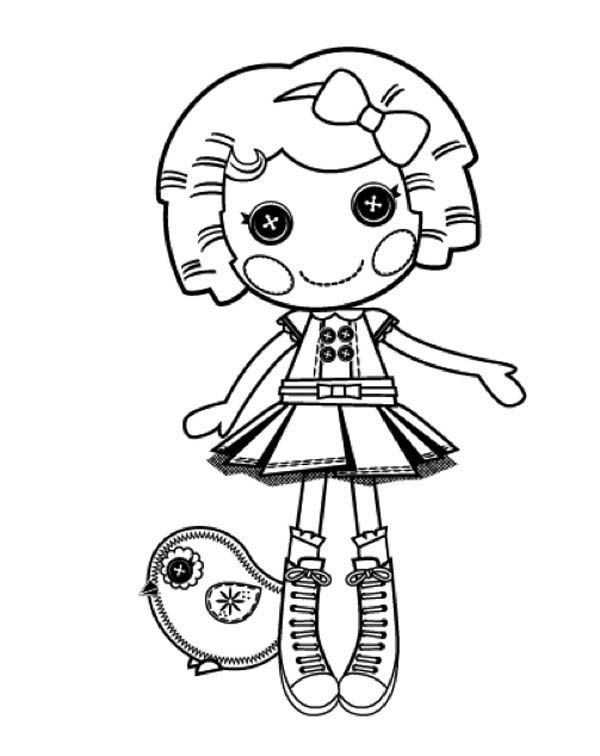 its a blast say dot starlight in lalaloopsy coloring page color luna - Lalaloopsy Coloring Pages Mittens