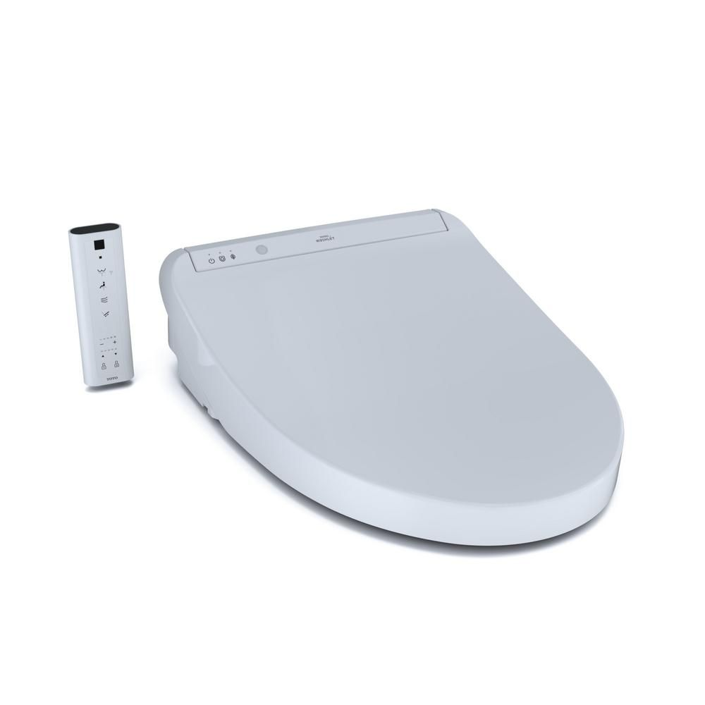 Toto K300 Washlet Electric Bidet Seat For Elongated Toilet In